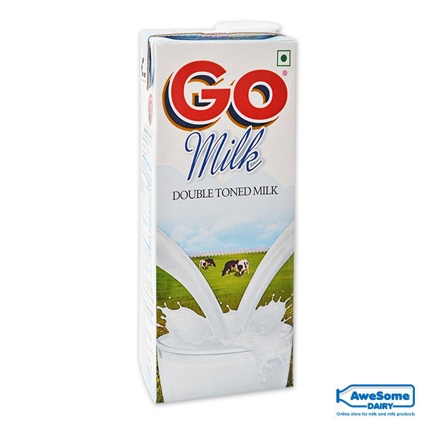 Go-Milk-Double-Toned-Milk-1-litre-Awesome-Dairy, milk mumbai, curd packets, curd price, 1 kg curd price, curd products, curd packets, curd packet, curds, vijaya curd bucket price, cow curd, heritage curd bucket price, low fat dahi, curd bucket, milk curd, verka curd, curd brands in india, madhusudan dahi, low fat curd, curd milk