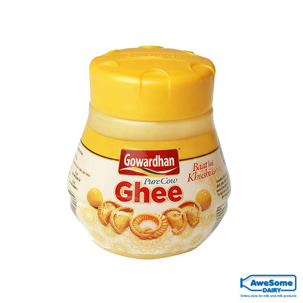 Gowardhan-Ghee-200ml-Jar-Awesome-dairy