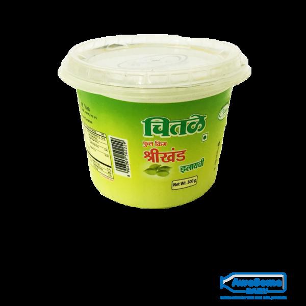 Chital Elaichi Shrikhand 500gm Full Cream Online on Awesome Dairy