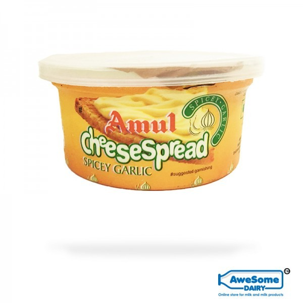 Cheese Spread Garlic Online - Amul Online | Awesome Dairy Mumbai