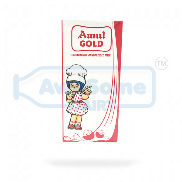 Milk Online : Amul Gold 1 Litre Online on Awesome Dairy in Mumbai