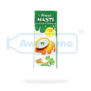 Amul - Masti Spiced Butter Milk 200ml - 5 Packets Online On Awesome Dairy | Mumbai