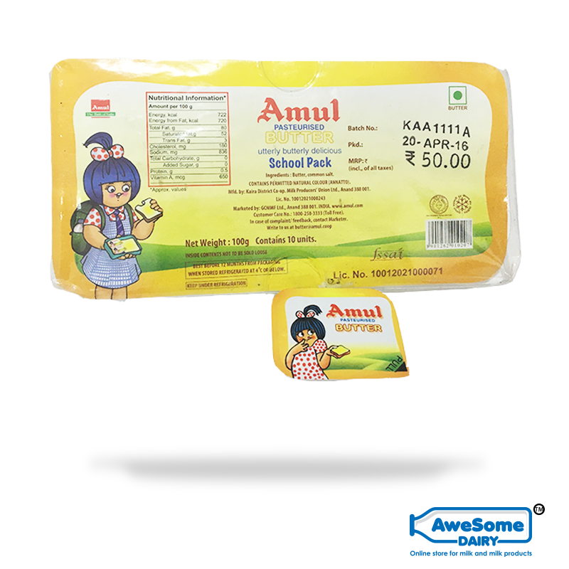 amul butter Reviews on amul lite butter also know more about ingredients used in amul lite butter and it's price in india.