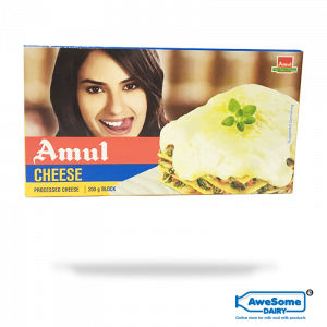 Now Amul Cheese Block 200g - Available Online On Awesome Dairy