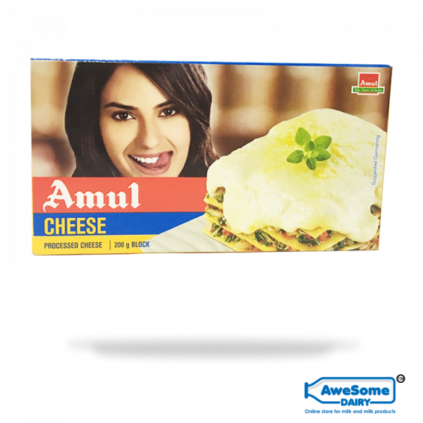Now Amul Cheese Block 200g - Available Online On Awesome Dairy,mozzarella cheese online,buy mozzarella cheese,price of mozzarella cheese, cost of mozzarella cheese,amul cheese spread, mozzarella cheese online, amul cheese spread, fresh cream, buy yogurt, a2 ghee benefits, buy mozzarella cheese, mozzarella cheese price, milk mumbai, price of mozzarella cheese, online ghee purchase, cost of mozzarella cheese, mozzarella price, milk packet, butter buy, cheese packet, milk price in india, pizza cheese india, ricotta cheese india, buy cow milk, types of cheese in india, cheese in india, cheddar cheese india