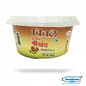 Amul Badam Shrikhand Flavour 250gm Online on Awesome Dairy