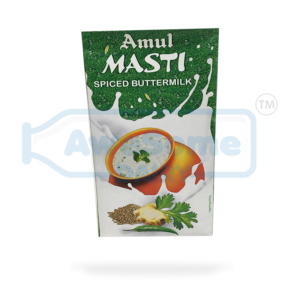 Now Buy 1 litre Spiced Amul Buttermilk Online On Awesome Dairy