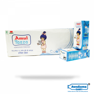 Amul Taaza 200ml Tetra pack at best price