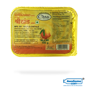 Chitale Mango Shrikhand ( Amba) 100gm Online On Awesome Dairy