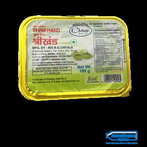 Chitale Elaichi Shrikhand Full Cream 100gm Online On Awesome Dairy