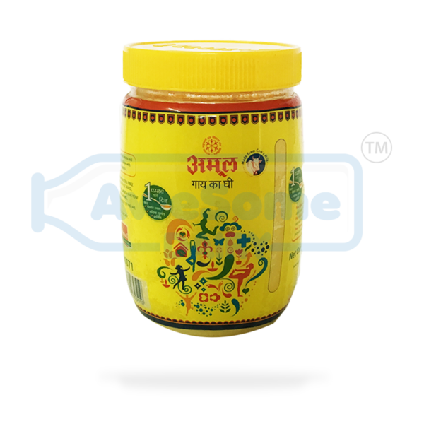 Cow ghee Jar Online - 500 Amul ghee On Awesome dairy