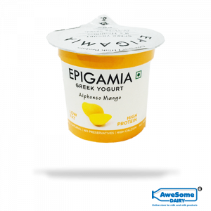 greek yogurt, Mango Yoghurt Epigamia - 12pcs Buy Greek Yoghurt Online | Awesome Dairy