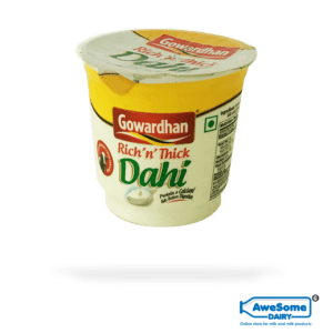 thick curd, Gowardhan Dahi pack 200g Online on Awesome Dairy,buy yogurt, where can you buy curd, greek yogurt india, curd packets, curd price, 1 kg curd price, curd products, curd packets, curd packet, curds, vijaya curd bucket price, cow curd, heritage curd bucket price, low fat dahi, curd bucket, milk curd, verka curd, curd brands in india, madhusudan dahi, low fat curd, curd milk