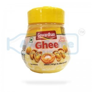 Gowardhan Cow Ghee 200ml Jar - Awesome Dairy