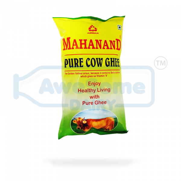 Pure Cow Ghee 1liter - Mahanand Ghee on Awesome Dairy