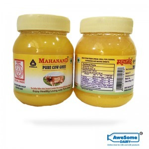 ghee,Mahanand Pure Cow Ghee Jar 200ml - Awesome Dairy Online