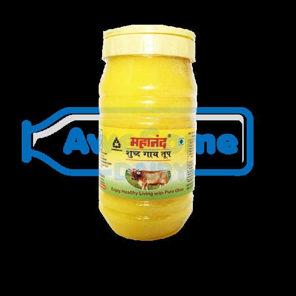 ghee,Ghee - Mahanand Pure Cow Ghee 1 liter Jar, mahanand-pure-cow-ghee