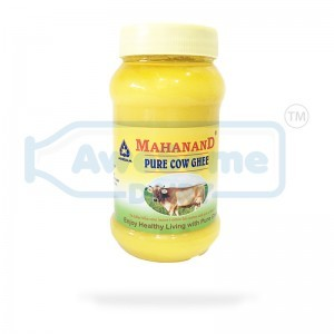 Mahanand Ghee Jar 500ml - Pure Cow Ghee on AWesome Dairy