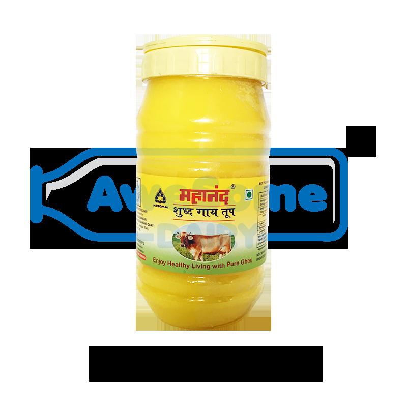 ghee,Ghee - Mahanand Pure Cow Ghee 1 liter Jar