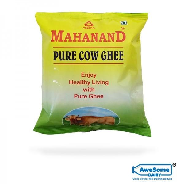 ghee,Shop Pure Cow Ghee 500ml - Online Mahanand Pouch on Awesome Dairy, mahanand-pure-cow-ghee