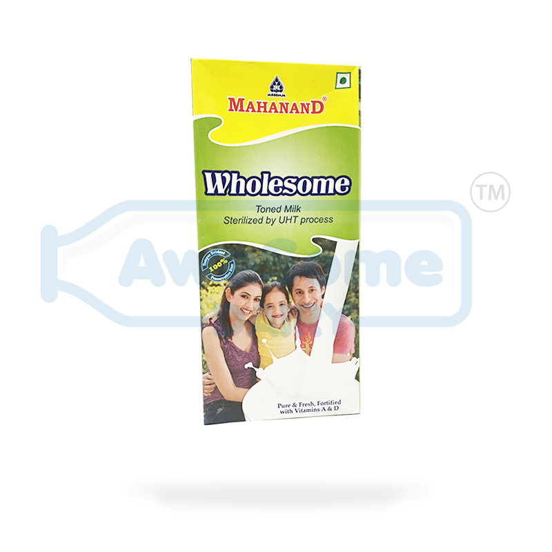 Fresh Mahanand Whole Milk - Online Awesome Dairy in Mumbai, mahanand-wholesome-milk, awesome-dairy-mahanand-wholesome-milk-1-liter