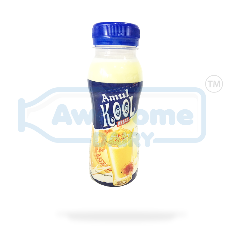 amul milk shake, Buy Amul Kool Kesar Milk 200ml online - Awesome Dairy