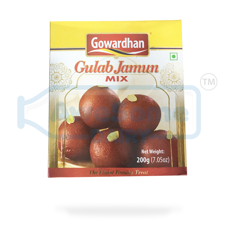 Gowardhan Gulab Jamun 250gm - Online on Awesome Dairy