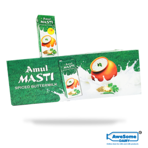 Amul Masti Spiced Buttermilk in 200ml – Bulk 27 Pcs at Wholesale Price on Awesome Dairy