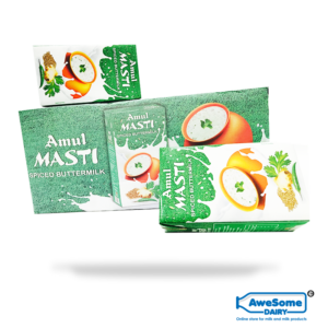 Buy Bulk Amul Masti Spiced Butter Milk Online 12 packets at Best Price on Awesome Dairy