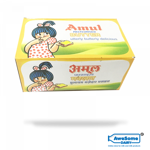 Butter Amul Online - 500gm Butter on Awesome Dairy Mumbai
