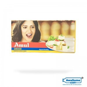 Pack of Amul Cheese - Cubes Online On AwesomeDairy.com
