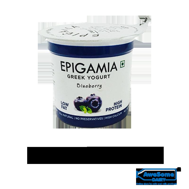 greek yogurt,Blueberry Yoghurt Online - Epiagmia Greek Yoghurt On Awesome Dairy,buy yogurt, yogurt online shopping,greek yogurt india