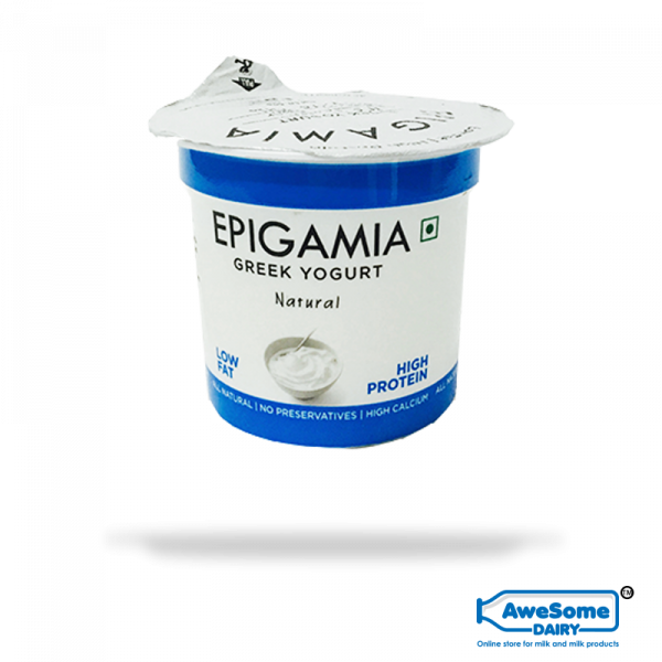 Greek Natural Yoghurt 90gm - Buy Epigamia Online in Mumbai