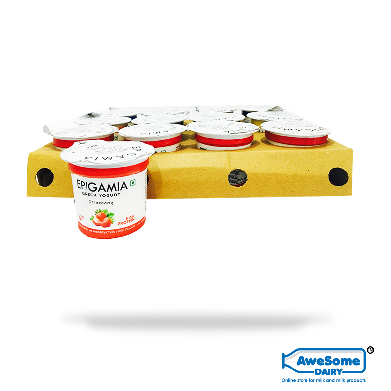 yogurt online,Bulk Greek Yogurt 90gm - Shop Epigamia Online | Awesome Dairy,buy yogurt, yogurt online shopping,greek yogurt india