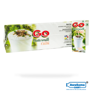 Bulk Go Butter Milk / Chaas 200ml - 30pcs Buy Online on Awesome Dairy