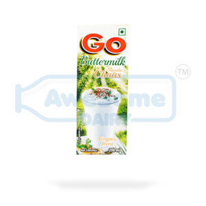 Go Butter Milk 200ml - Buy Online on Awesome Dairy