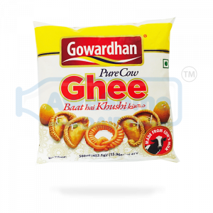 Cow Ghee Online - 500ml Gowradhan Ghee on Awesome Dairy