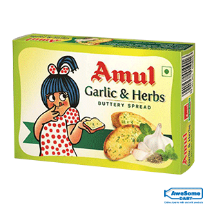 amul butter price, Amul-Garlic-Butter-100g