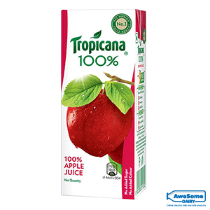 tropicana juice flavours list,tropicana juice price, tropicana india, Tropicana-100%-Apple-Juice-200ml
