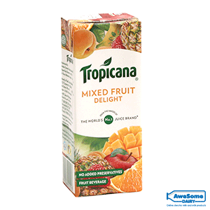 tropicana mixed fruit juice, tropicana india, Tropicana-Mixed-Fruit-Delight-200ml