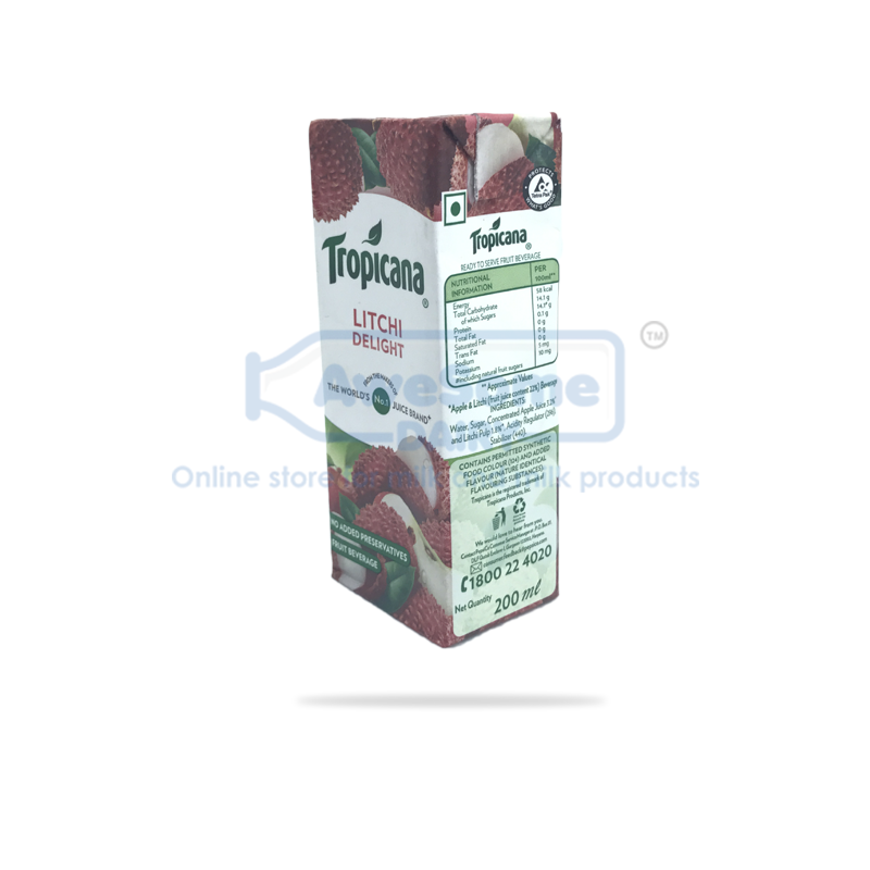 Tropicana Litchi 200ml Buy Litchi Juice Online At Low