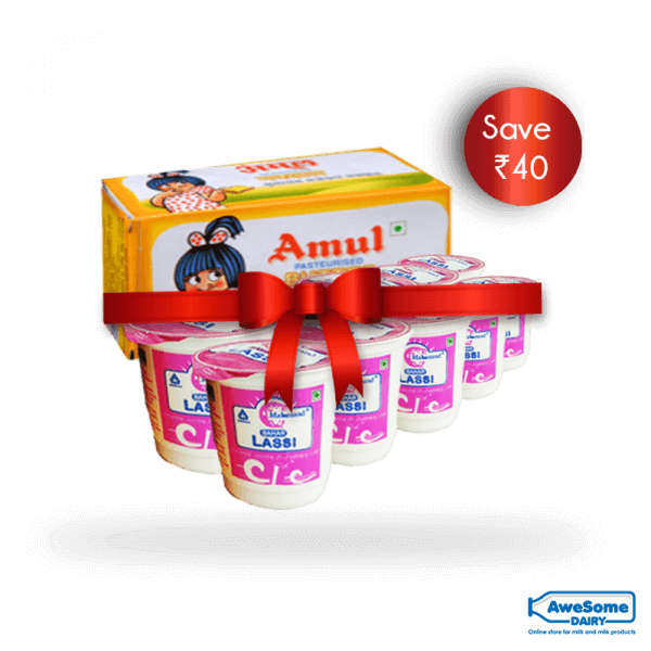 awesomedairy-combo-offer-amul-butter-mahanada-lassi