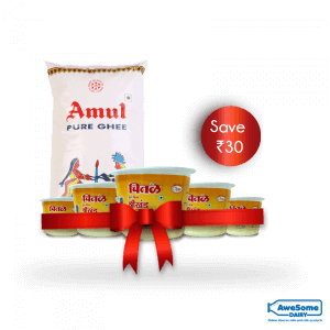 awesomedairy-combo-offer-amul-ghee-chitale-shrikhand
