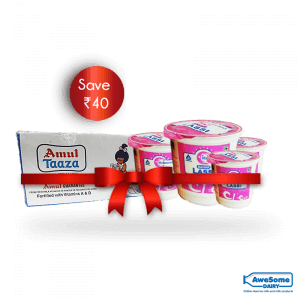 Amul Taaza Milk and Lassi online combo