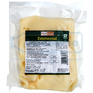 Emmental (Cheese 200g) - Buy Emmental Cheese Online Best Offer Price