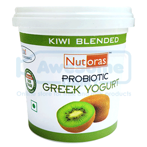 yogurt online,Nutoras-kiwi-greek--yogurt-125gm_top-Awesomedairy,buy yogurt, yogurt online shopping,greek yogurt india
