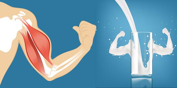 drink milk for growth of bones