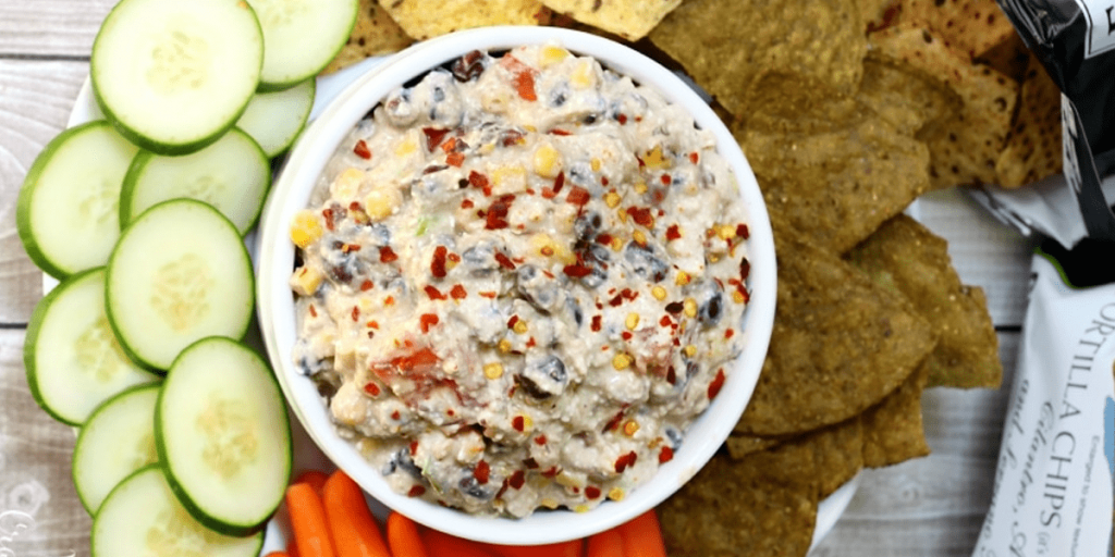Skinny Mexican Cottage Cheese Dip SNACKS